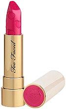 Parfémy, Parfumerie, kosmetika Matná rtěnka - Too Faced Peach Kiss Moisture Matte Long Wear Lipstick