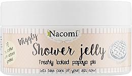 """Parfémy, Parfumerie, kosmetika Sprchový gel-želé """"Pečený koláč z papáji"""" - Nacomi Shower Jelly Freshly Baked Papaya Pie"""