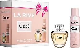Parfémy, Parfumerie, kosmetika La Rive Cute Woman - Sada (edp/100ml + deo/150ml)