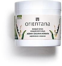 """Parfémy, Parfumerie, kosmetika Tělový olej """"Jasmín a zelený čaj"""" - Orientana Jasmine & Green Tea Body Oil"""