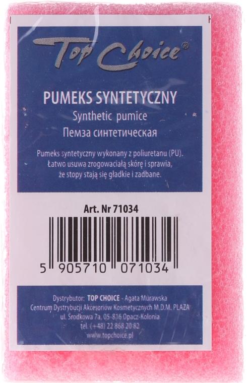 Syntetická oboustranná pemza, 71034, růžová - Top Choice