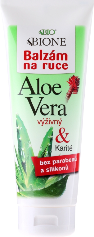 Balzám na ruce hydratační - Bione Cosmetics Aloe Vera Nourishing Hand Ointment With Collagen