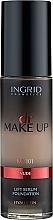 Parfémy, Parfumerie, kosmetika Make-up - Ingrid Cosmetics Lift Serum Foundation SPF8