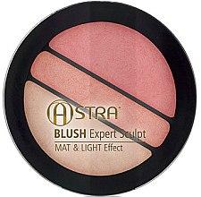 Parfémy, Parfumerie, kosmetika Tvářenka - Astra Make-up Blush Expert Sculpt