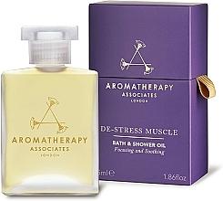 Parfémy, Parfumerie, kosmetika Olej do koupele a sprchy - Aromatherapy Associates De-Stress Muscle Bath & Shower Oil