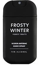 Parfémy, Parfumerie, kosmetika Antibakteriální sprej na ruce Lesní plody - HiSkin Antibac Hand Spray Frosty Winter