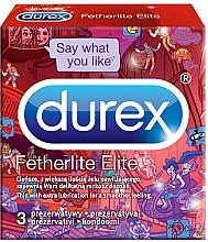 Parfémy, Parfumerie, kosmetika Kondomy - Durex Fetherlite Elite