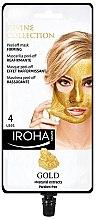 Parfémy, Parfumerie, kosmetika Maska na obličej - Iroha Nature Gold Peel Off Mask Firming
