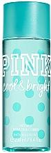 Parfémy, Parfumerie, kosmetika Tělový sprej - Victoria's Secret Pink Cool & Bright Body Spray