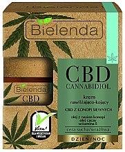 Parfémy, Parfumerie, kosmetika Hydratační a uklidňující krém na obličej - Bielenda CBD Cannabidiol Cream