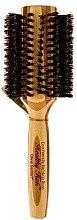 Parfémy, Parfumerie, kosmetika Bambusový foukací kartáč s přírodními stětinami, d.40 - Olivia Garden Healthy Hair Boar Eco-Friendly Bamboo Brush