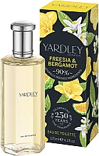 Parfémy, Parfumerie, kosmetika Yardley Freesia & Bergamot - Toaletní voda