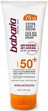 Parfémy, Parfumerie, kosmetika Opalovací krém na obličej a krk - Babaria Face and Neck Sun Cream Spf 50