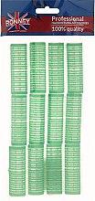 Parfémy, Parfumerie, kosmetika Natáčky na suchý zip 20/63, zelené - Ronney Professional Velcro Roller