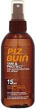 Parfémy, Parfumerie, kosmetika Ochranný olej pro rychlé opálení - Piz Buin Tan&Protect Tan Accelerating Oil Spray SPF15