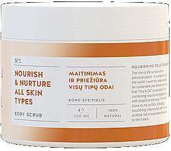 Parfémy, Parfumerie, kosmetika Vyživující tělový peeling - You & Oil Nourish & Nuture