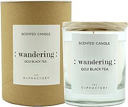 Parfémy, Parfumerie, kosmetika Aromatická svíčka Goji - Ambientair The Olphactory Wandering Goji Black Tea