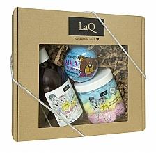 Parfémy, Parfumerie, kosmetika Sada - LaQ (bath/bomb/110g + sh/gel/300ml + foam/250ml)