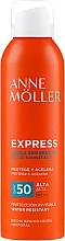 Parfémy, Parfumerie, kosmetika Sprej pro urychlení opalování - Anne Moller Express Bruma Body Tanning Spray SPF50