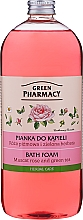 Parfémy, Parfumerie, kosmetika Pěna do koupele Muškátová růže a Zelený čaj - Green Pharmacy