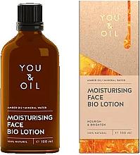 Parfémy, Parfumerie, kosmetika Pleťový bio lotion - You & Oil Moisturising Face Bio Lotion Amber Oil+Mineral Water