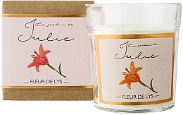 Parfémy, Parfumerie, kosmetika Aromatická svíčka Lilie - Ambientair Le Jardin de Julie Fleur de Lys