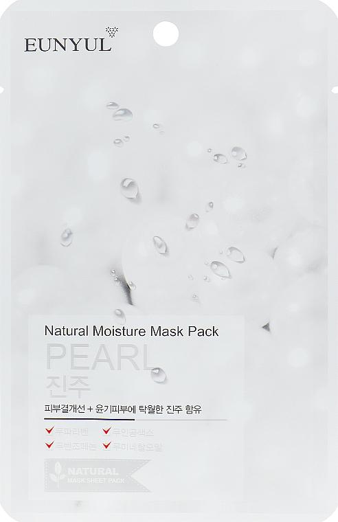 Pleťová maska s extraktem z perly - Eunyul Natural Moisture Mask Pack-Pearl