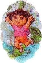 Parfémy, Parfumerie, kosmetika Dětská koupelová houba Dora průzkumnice, 169-5 - Suavipiel Dora Bath Sponge
