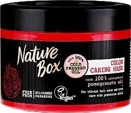 Parfémy, Parfumerie, kosmetika Intenzivní maska pro ochranu barvy vlasů - Nature Box Pomegranate Oil Maska