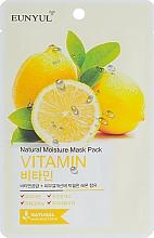 Parfémy, Parfumerie, kosmetika Pleťová maska s vitamíny - Eunyul Natural Moisture Mask Pack Vitamin