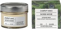 Parfémy, Parfumerie, kosmetika Zesvětlující pleťová maska - Comfort Zone Sacred Nature Exfoliant Mask