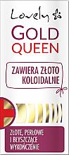 Parfémy, Parfumerie, kosmetika Balzám pro slabé nehty - Lovely Gold Queen