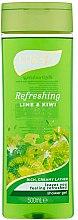 Parfémy, Parfumerie, kosmetika Sprchový gel - Luksja Refreshing Lime & Kiwi Shower Gel