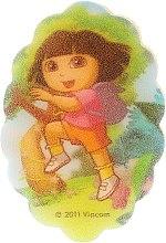 Parfémy, Parfumerie, kosmetika Dětská koupelová houba Dora průzkumnice, 169-7 - Suavipiel Dora Bath Sponge