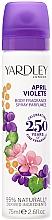 Parfémy, Parfumerie, kosmetika Yardley April Violets - Deodorant-sprej