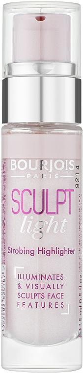 Tekutý rozjasňovač - Bourjois Sculpt Light Highlighter — foto N1