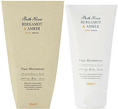 Parfémy, Parfumerie, kosmetika Bath House Bergamot & Amber - Pleťový krém