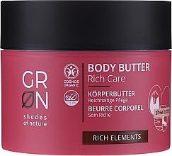 Parfémy, Parfumerie, kosmetika Tělový olej - GRN Rich Elements Shea Body Butter