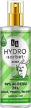 Parfémy, Parfumerie, kosmetika Univerzální gel 96% - AA Hydro Sorbet Gel (sprej)