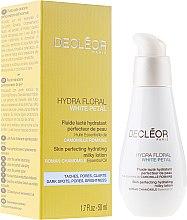 Parfémy, Parfumerie, kosmetika Mléčný lotion na obličej - Decleor Hydra Floral White Petal Skin Perfecting Hydrating Milky Lotion