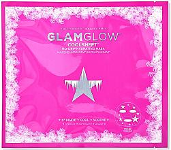 Parfémy, Parfumerie, kosmetika Hydrogelová obličejová maska - Glamglow Coolsheet No-Drip Hydrating Mask