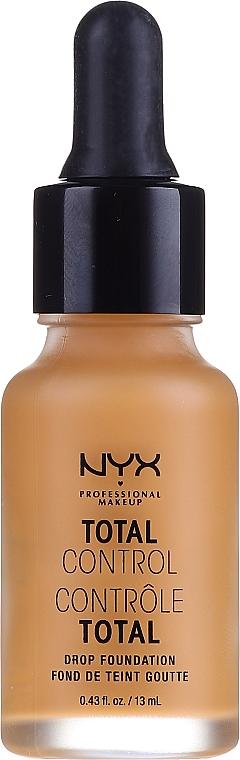 Odolný tónový základ - NYX Professional Makeup Total Control Drop Foundation