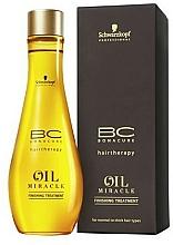 Parfémy, Parfumerie, kosmetika Olej pro normální a tvrdé vlasy - Schwarzkopf Professional Bonacure BC
