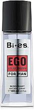 Parfémy, Parfumerie, kosmetika Bi-Es Ego Platinum - Parfémovaný deodorant-sprej