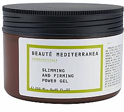 Parfémy, Parfumerie, kosmetika Zpevňující tělový gel proti celulitidě - Beaute Mediterranea Slimming And Firming Power Gel