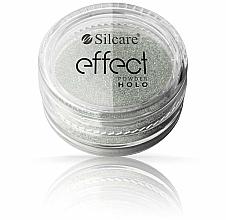 Parfémy, Parfumerie, kosmetika Pudr na nehty - Silcare Effect Powder Holo
