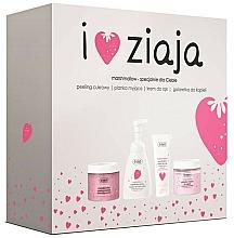 Parfémy, Parfumerie, kosmetika Sada - Ziaja I Love Ziaja Marshmallow (b/peeling/300ml + h/cr/50ml + shower/gel/260ml + b/foam/250ml)