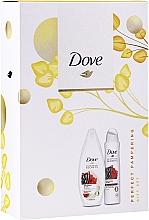 Parfémy, Parfumerie, kosmetika Sada - Dove Relaxing Care Gift Set (sh/gel/250ml+deo/spray150ml)