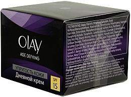 Parfémy, Parfumerie, kosmetika Denní krém Elasticita pokožky - Olay Age Defying Day Cream