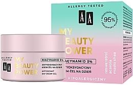 Parfémy, Parfumerie, kosmetika Antioxidační denní krém-gel na obličej - AA My Beauty Power Niacynamid 5% Antioxidant Day Cream-Gel